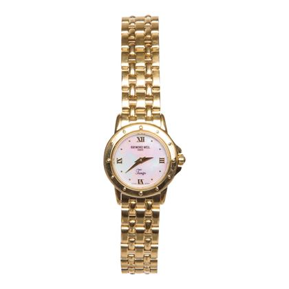 Raymond Weil Tango 5860 gold plated ladies vintage watch