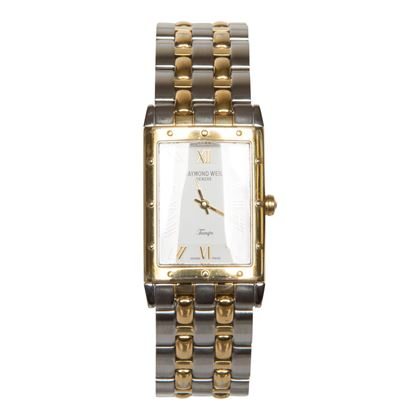 Raymond Weil Tango 5980 stainless steel and gold plated mens vintage watch