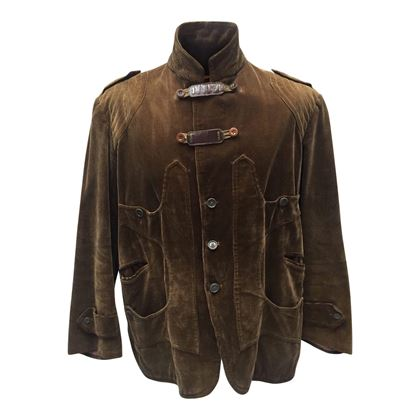 Vintage 1950s Corduroy Hunting Brown Jacket