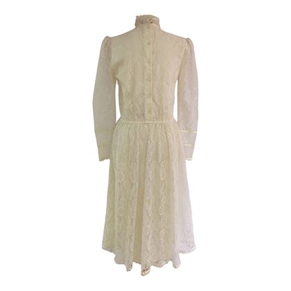Jessica Mclintock 1960s Vintage Wedding Dress