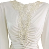 David Rose 1980s vintage wedding dress
