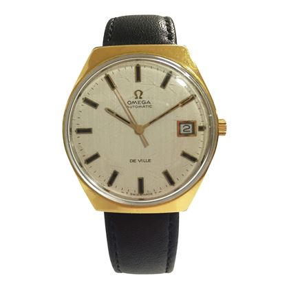 Omega De Ville Vintage Gold Men's Watch