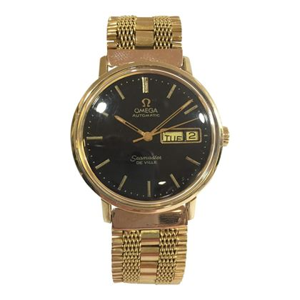 Omega Seamaster 18 carat Gold Men's Vintage Watch