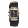 Omega Constellation classic black with diamond case women's vintage watch
