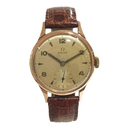 Omega Classic Mid-Size Men's Vintage Watch