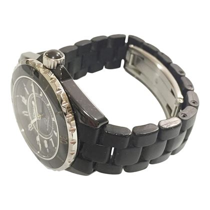 Chanel black automatic H0685 men's vintage watch