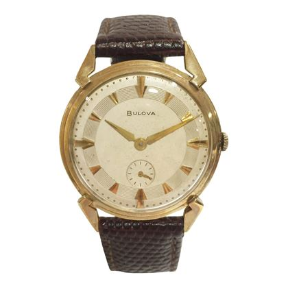 Bulova men's vintage watch