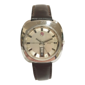 Rado Cape Horn 280 day-date stainless steel mens vintage watch