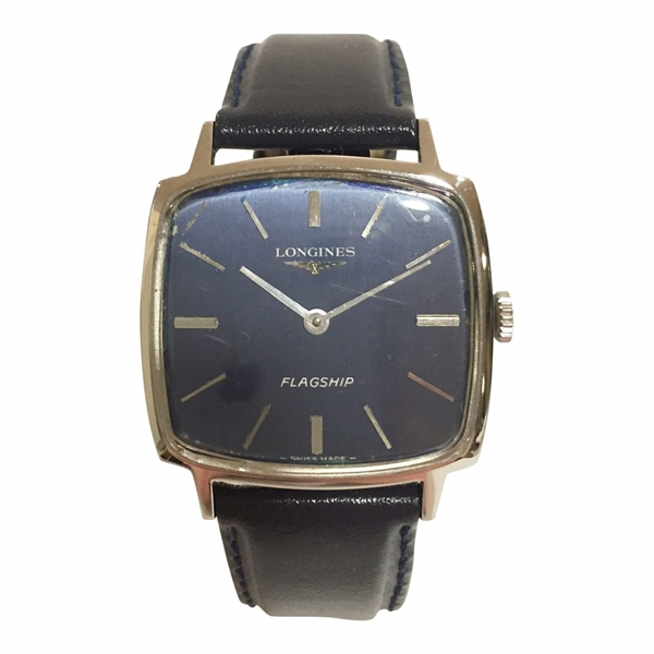 Longines Flagship stainless steel mens vintage watch