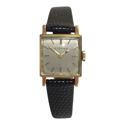 Eterna square small face women's vintage watch