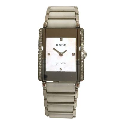 Rado Integral Jubilé ceramic and diamond mid size ladies vintage watch