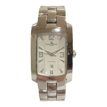 Baume & Mercier Hampton automatic stainless steel ladies vintage watch