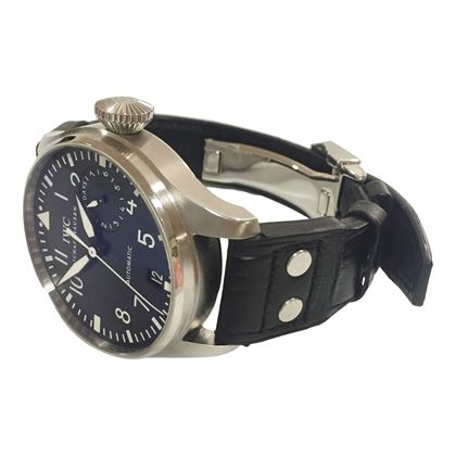 IWC Schaffhausen Big Pilot black automatic IW500901 mens vintage watch