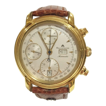 Maurice Lacroix chronograph mens vintage watch