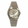 Omega Constellation steel on steel 27mm 123.10.27.60.02.001 ladies vintage watch