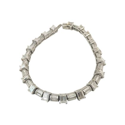 Vintage 1930s Art Deco diamond bracelet