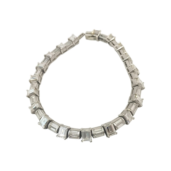 pieces deco a estate diamond jewelry platinum bracelet art