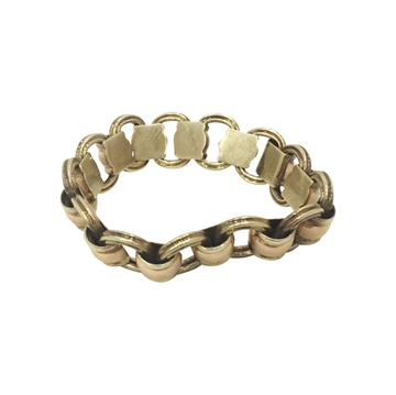 Antique Late 19th Century 14ct Gold bracelet