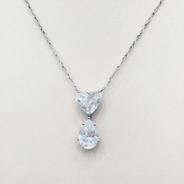 Antique edwardian heart pear shaped diamond necklace open for antique edwardian heart pear shaped diamond necklace aloadofball Gallery