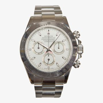 Rolex Oyster Perpetual Daytona cosmograph stainless steel 116520 mens vintage watch