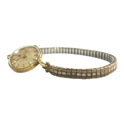 Omega 9 carat yellow gold vintage ladies watch