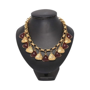 Chanel Gripoix vintage necklace