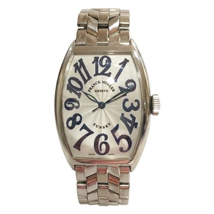Franck Muller Sunset 18ct White Gold 5850SC Mens Vintage Watch