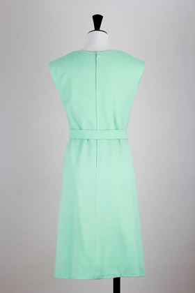 Andre Courreges 1970s mod style mint green vintage Midi Dress