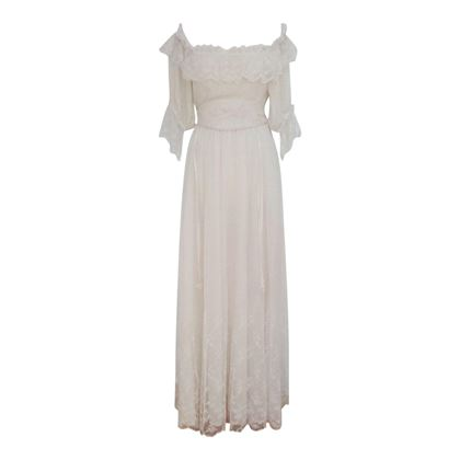 1970's Grace Elliot Wedding Gown
