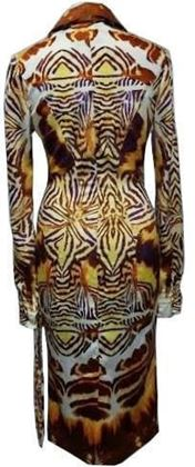 Just Cavalli animal print vintage dress