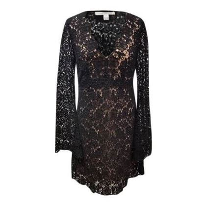 Diane Von Furstenburg lace vintage Shift Dress
