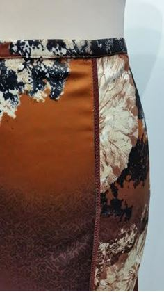 Just Cavalli multi-patterned vintage skirt