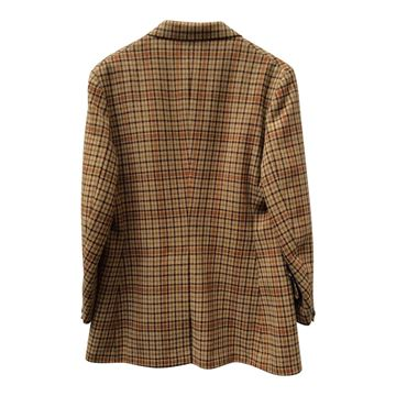 Harry Hall tweed Riding vintage brown check jacket