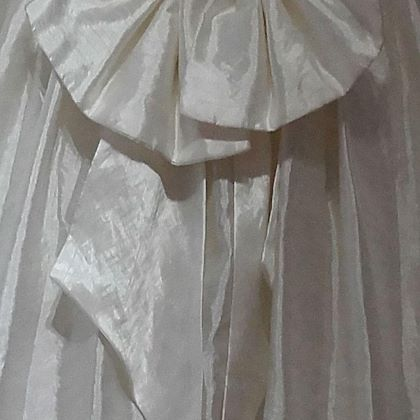 Vintage 1980s Cupid A line Wedding Dress