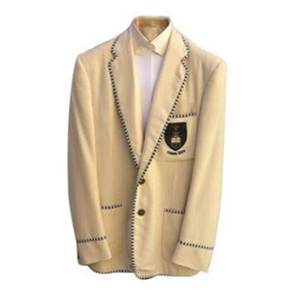 Vintage 1950s Wool & trim cream Tennis Blazer