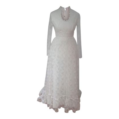Vintage 1970s Lace Wedding dress