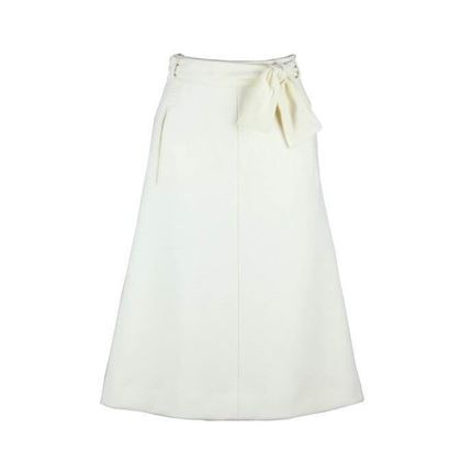 Bogner 1980s Wool white vintage Skirt