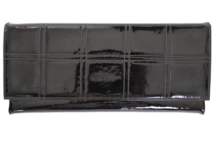 Vintage 1960s Patent Leather Clutch Bag