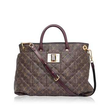 Louis Vuitton monogram etoile brown vintage tote bag