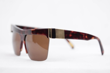 Picture of Gianni Versace Basix 399 tortoise brown and gold vintage sunglasses