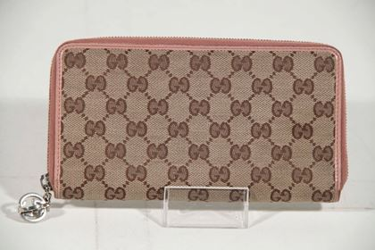 Gucci GG Monogram Canvas vintage wallet