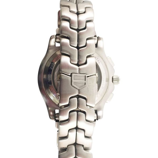 TAG Heuer Link Calibre 36 CT511B stainless steel vintage mens watch