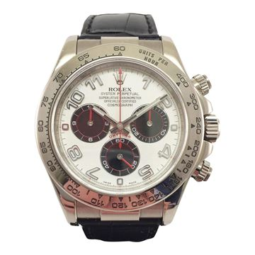 Rolex Daytona Oyster Perpetual 116519 white gold vintage mens watch