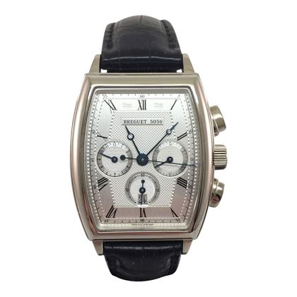 Breguet Heritage 5460BB/12/996 18 carat white gold vintage mens watch