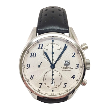 TAG Heuer Carrera Calibre 16 stainless steel vintage mens watch