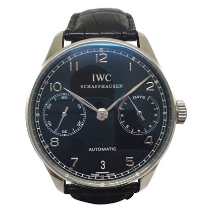 IWC Schaffhausen Portuguese Seven (7) days IW500109 vintage mens watch