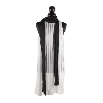 Picture of Prada Silk Pleated white vintage dress