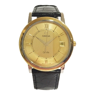 Picture of Omega De Ville gold and silver mens vintage watch