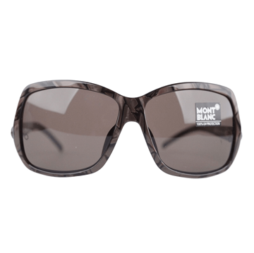 Montblanc Brown vintage oversized Sunglasses