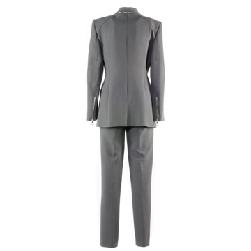 Burberry zip detail black vintage trouser suit